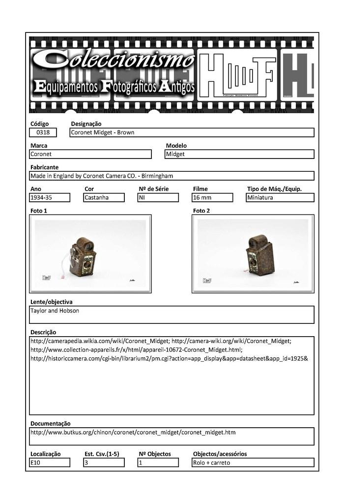 Inventariação da colecção_0318 Coronet Midget - Brown