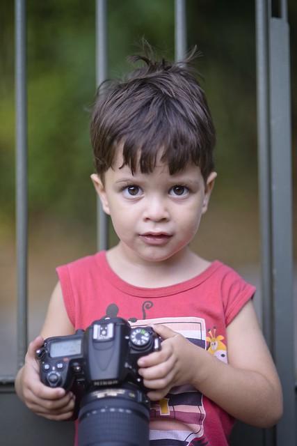 Mini fotógrafo