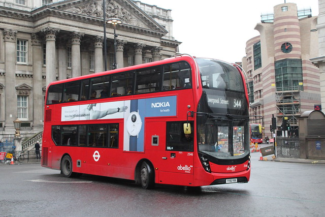 Abellio London 2546, YY16YKN - Route 344 | Mansion House Street, Bank