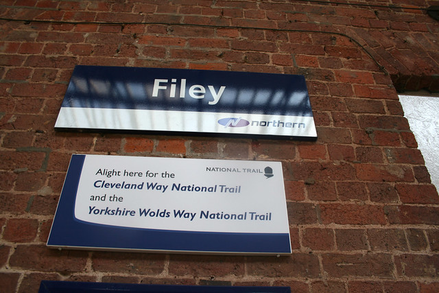 Filey station, North Yorkshire