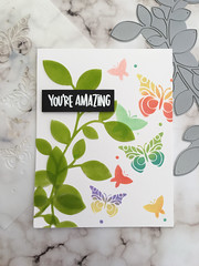 You're Amazing by Simon.Says.Stamp