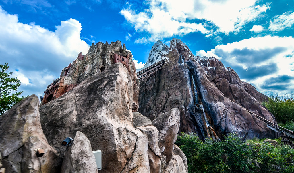 Expedition Everest AK from below