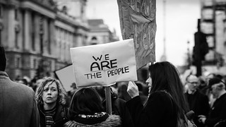Banner On The March: We ARE The People   by Stuart Herbert