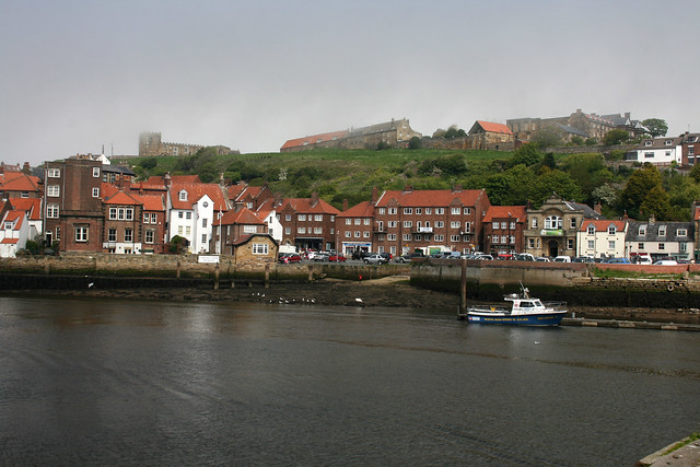 Whitby from the harbour