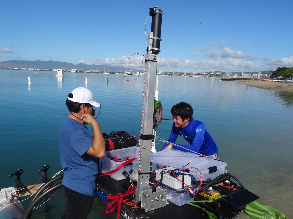 AUVSI Maritime RobotX Challenge - December 2016