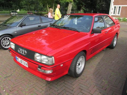 Audi 80 Quattro Coupe', Type 81, Mod. 1986 | granada-uwe ...