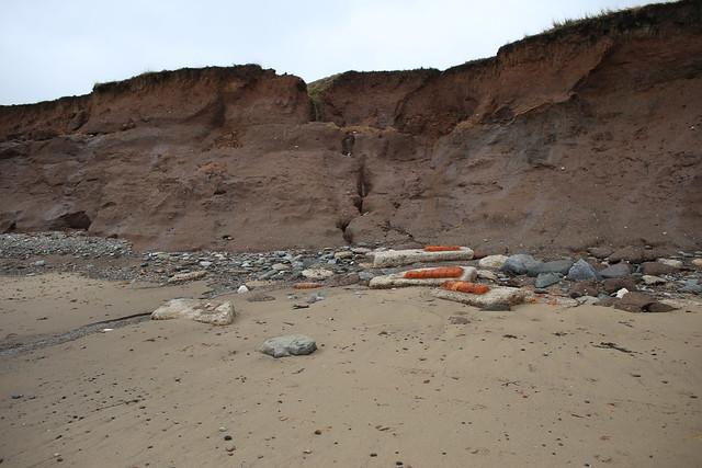 Erosion near Withernsea