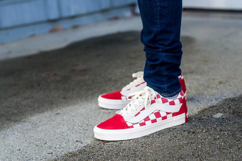 Sale OFF-56%|red vans on feet