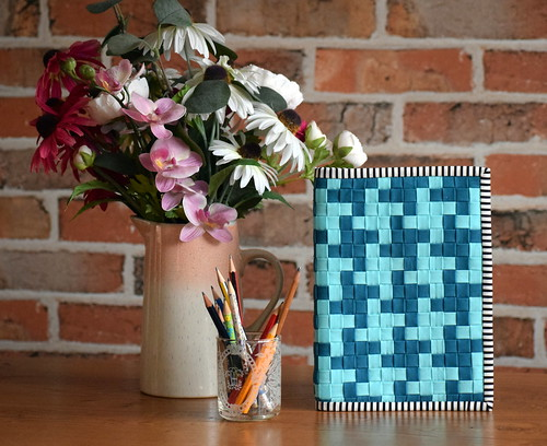 Wefty Woven Notebook Cover | by Just Jude Designs