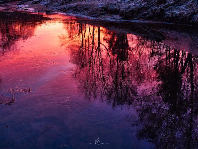 EXPLORED: Songdal Reflected Sunrise