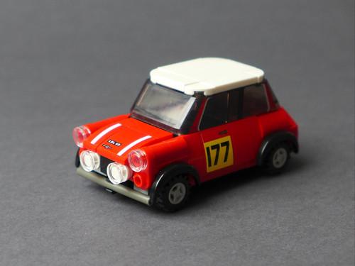 Mini Cooper 1/35 (Speed Champions 75894 MOD)