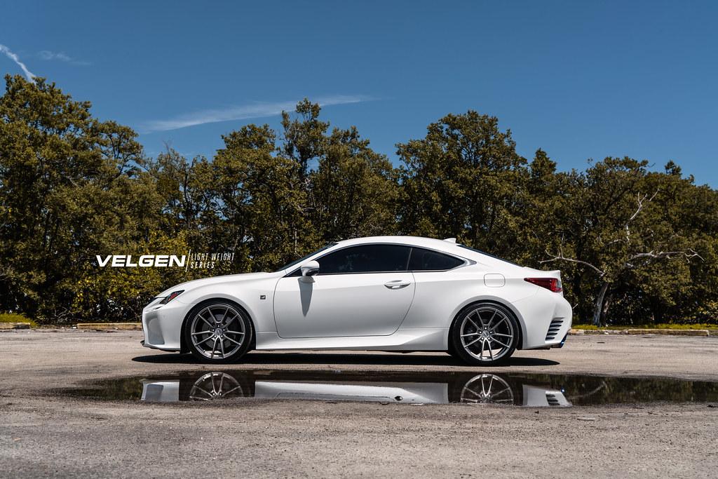 Lexus Rc350 Velgen Wheels Light Weight Series Vf5 Gloss Gu