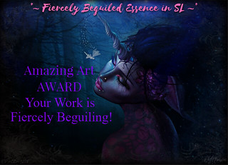*~Fiercely Beguiled Essence in SL~* Group Award