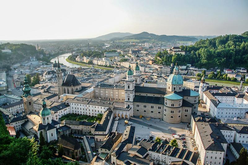 薩爾茲古堡俯瞰市區 5