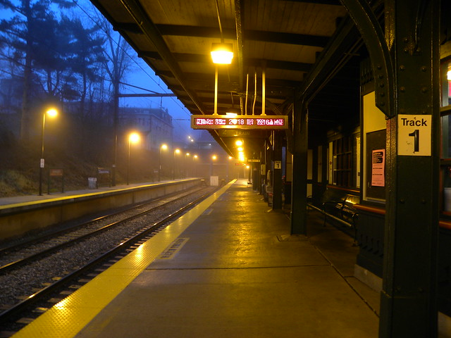 Catching the early train