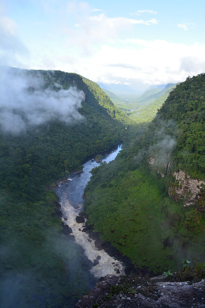 Vallée des Kaieteur Falls