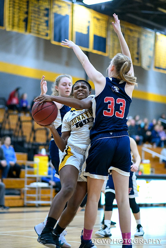 Jonathan Law vs. Foran High - High School Girls Basketball