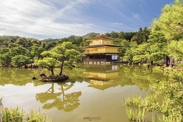 Kinkaku-ji, The Golden Pavilion - Kyoto (Japan)