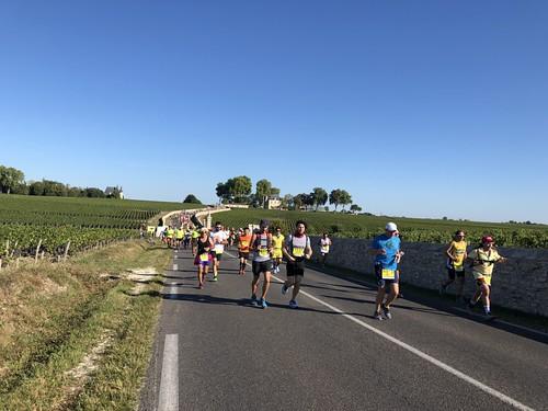 Marathon du Médoc 8 sept 2018   by anneverofrance
