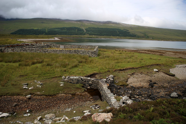 Old Sheepfold at the south end of Loch Eriboll