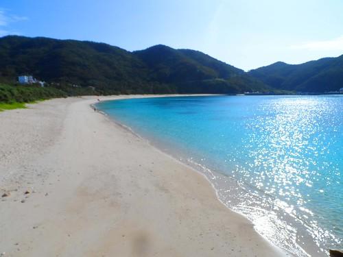 Tokashiku Island Beach