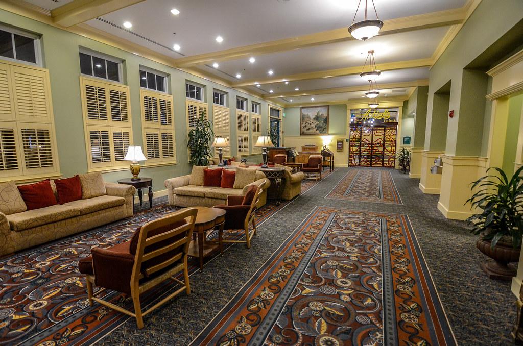 Saratoga Springs hall