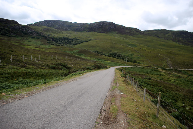 The A838 beside Loch Eriboll