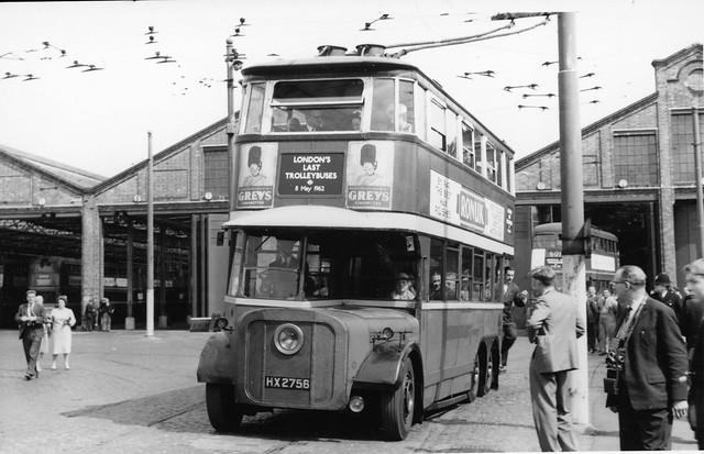 london trolley buses