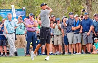 Tiger Woods 9th Tee TPC Sawgrass   by oscarpetefan