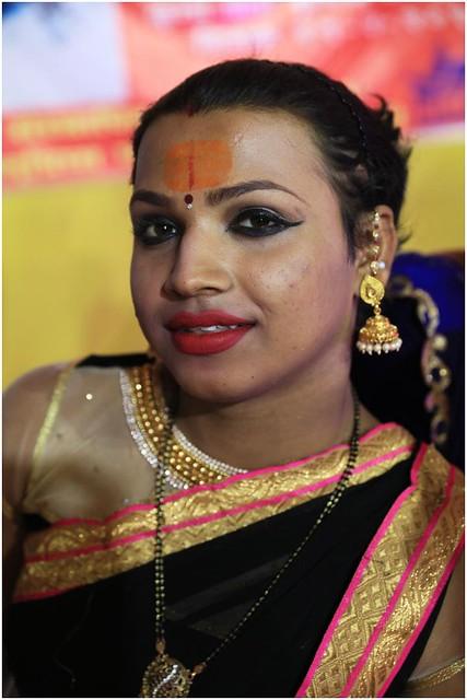 India Travel Photography: Kinnar Akhara (transgender Saints) at Kumbh Mela Festival 2019 Allahabad.062 by Hans Hendriksen