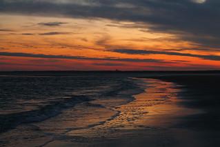 East Beach Sunset 7 - St Simons Island