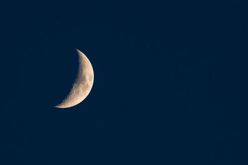 Waxing Crescent 31% | by John Brighenti