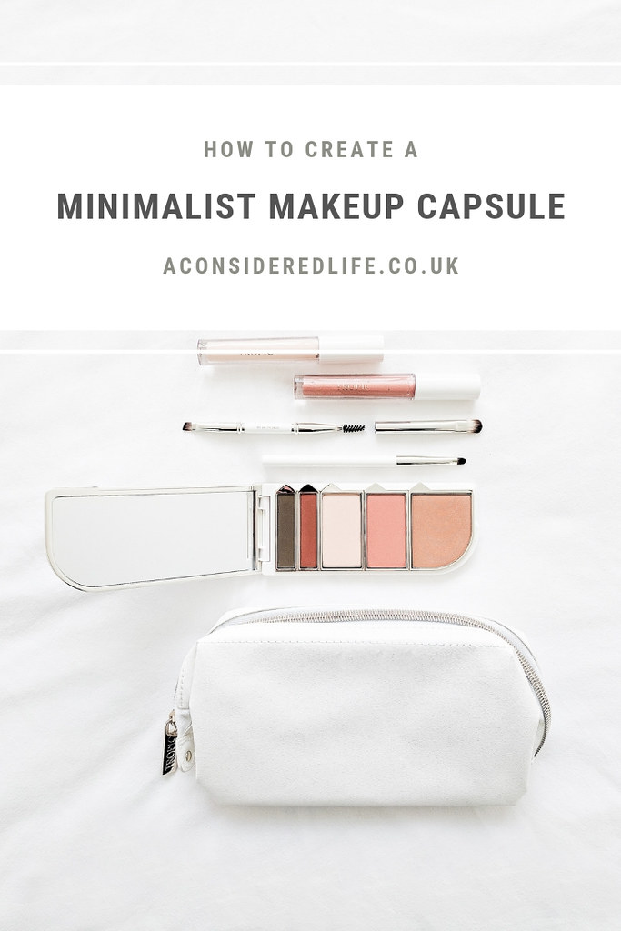 Creating A Minimalist Makeup Collection