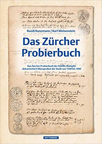 Das Zürcher Probierbuch book cover | by Numismatic Bibliomania Society