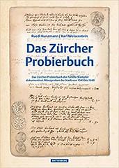 Das Zürcher Probierbuch book cover