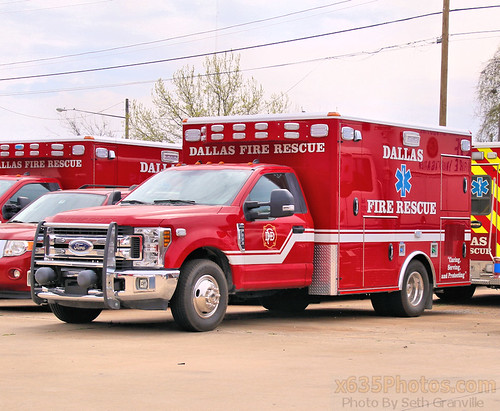 Dallas Fire Department Rescue Photo