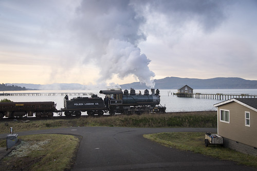 excursiontrain oregon rr passengertrain steamlocomotive bayshore 282