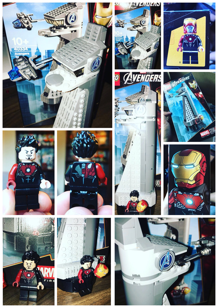 Lego Avengers Tower out in the wild...