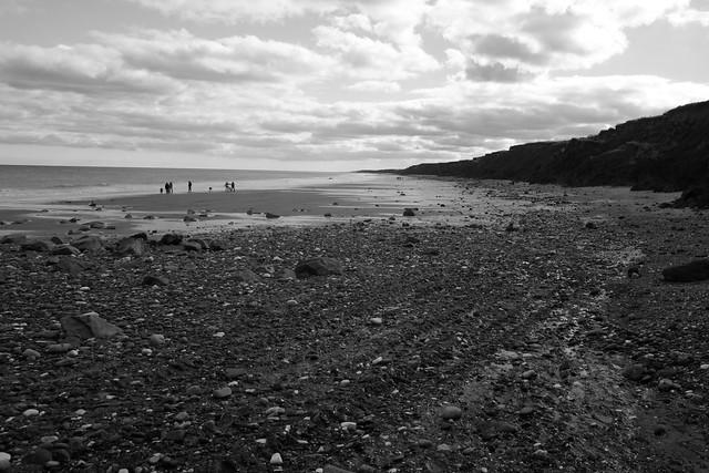 The beach near Mappleton