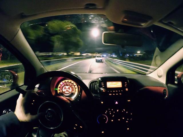 Notte al volante
