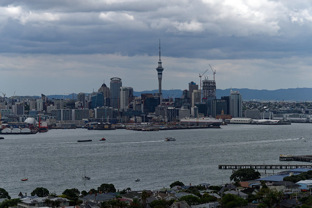 Auckland, seen from Mt Victoria
