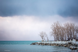 Storm is a brewin' over Lake Ontario - Ashbridges Bay, Toronto | by Phil Marion (173 million views - THANKS)