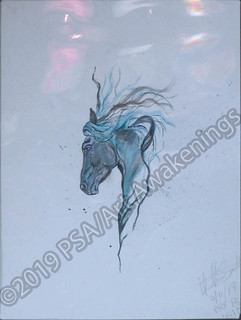 ''Majestic'' by Heather S, mixed media, $45.00 | by Art Awakenings