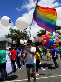 Multitud, Marcha de la Diversidad 2018/ The crowd, Costa Rican Pride 2018