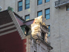 New Amsterdam Theatre Window Gargoyle 3720