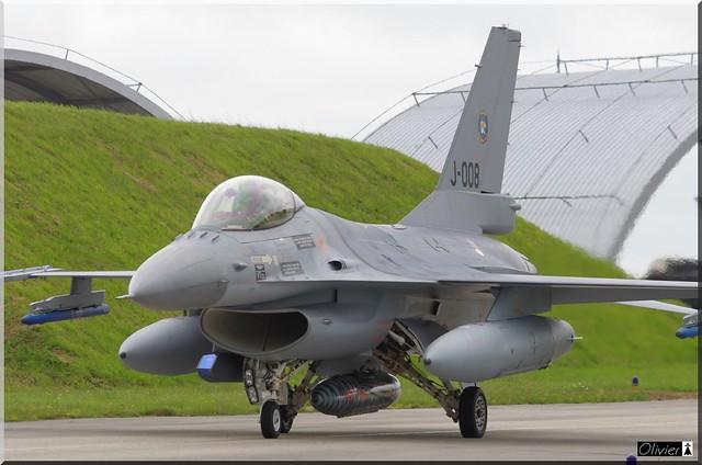 F-16M, 313sq, J-008, KLU
