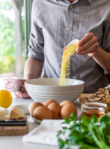 nutritional yeast adds a rich, savory flavor | by Husbands That Cook
