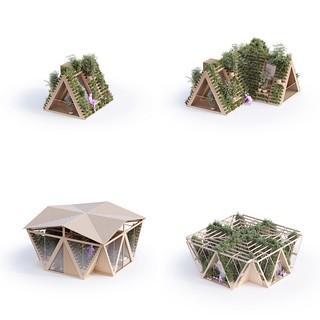 Precht - The Farmhouse 垂直農場集合住宅 01 單戶型結構 | by 準建築人手札網站 Forgemind ArchiMedia