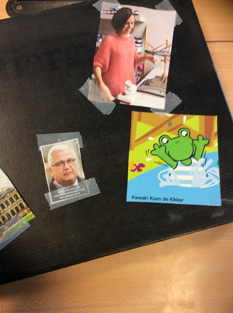 "Vijfde leerjaar : Tentoonstelling ""Book-in-a-box"""