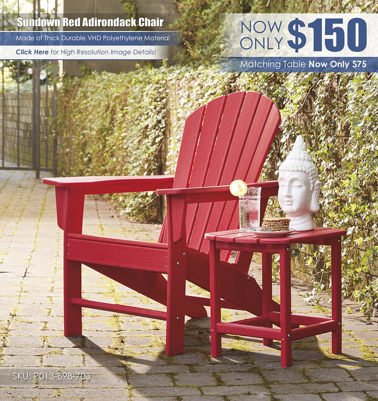 Sundown Red Adirondack Chair_P013-898-703